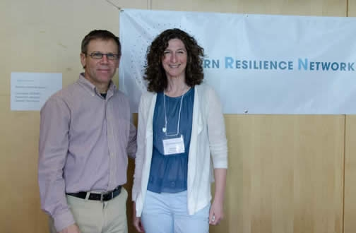WRNC 2014 Keynote Speaker Michael Ungar with Ruth Kirson
