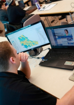 Master of GIS Applications at Vancouver Island University
